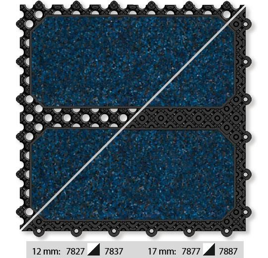 Forbo Coral Coral Click 17 mm open Stratos Blue 24x24