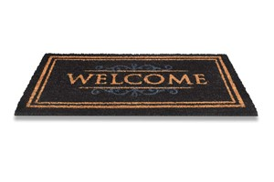 Hamat Ruco Classic - Welcome 147 511 Black 40x70
